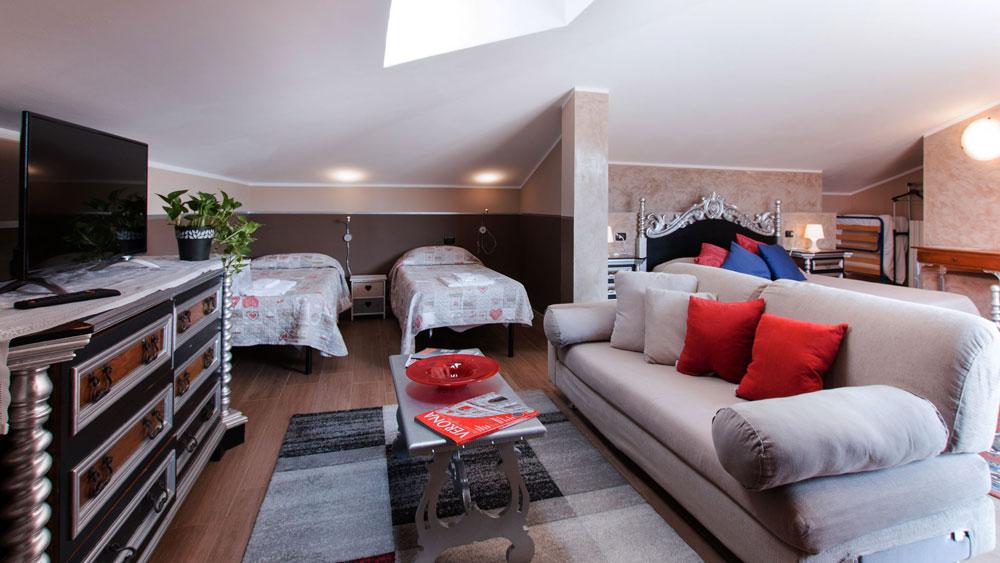 Villa Boninsegna - Camera Suite quadrupla con terrazzo - Soggiorno a Verona, degustazioni ed eventi